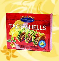 Кукурузные лодочки, Taco Shells, Santa Maria, 12шт/уп, 135г, JJМеФо