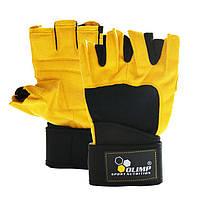 Атлетические перчатки Olimp Hardcore Raptor yellow