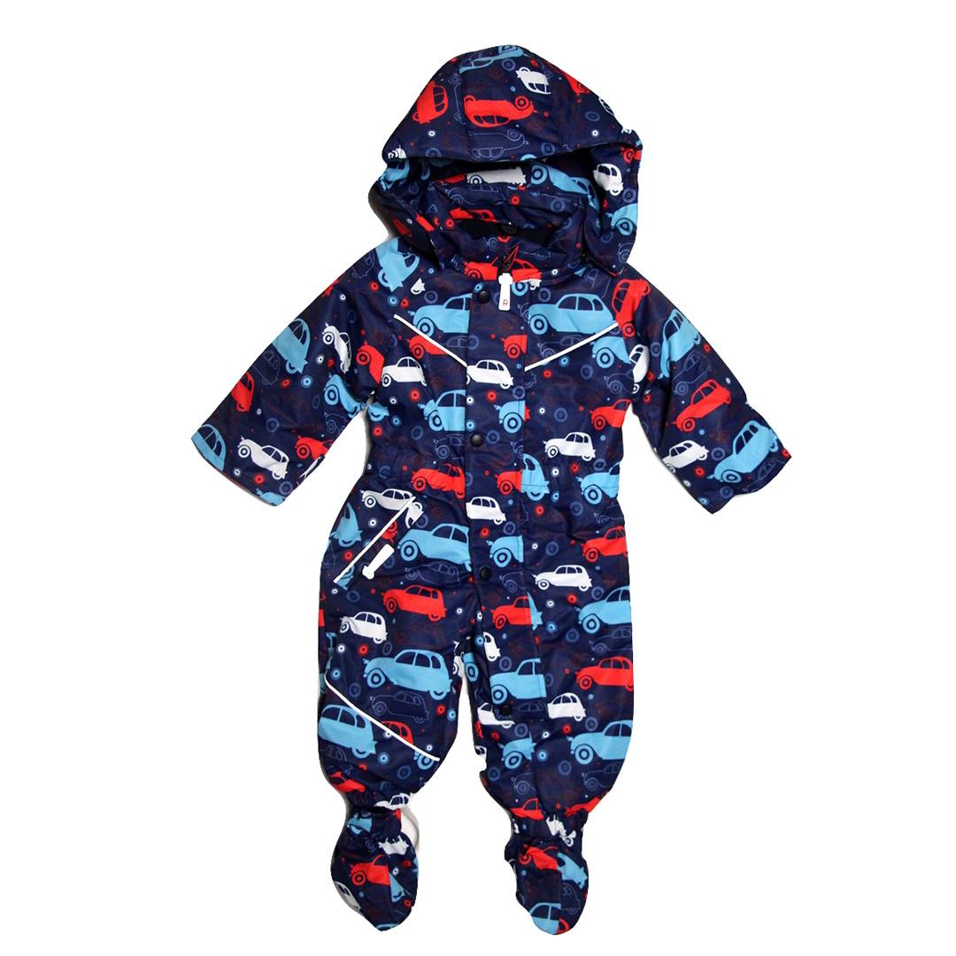 3c5626aa5526 Демисезонный комбинезон мембрана для мальчика от 6 месяцев до 1,5 лет  красный