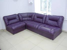 Офисный угловой диван Визит 2520*1750*850h