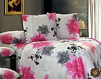 Семейный комплект постельного белья 220х240 бязь (Т0203)