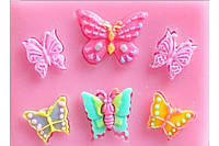 Молд бабочки 6 шт.