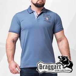 Футболки поло мужские больших размеров | Braggart