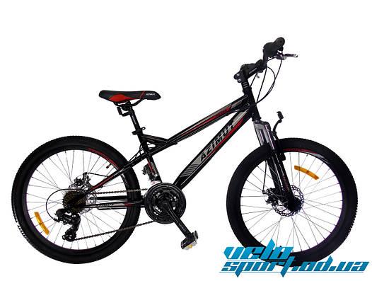 Горный подростковый велосипед Azimut Hiland 24 GD / 2018