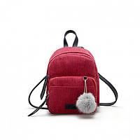 e9d36b6d5694 Рюкзак для девушки Kelly Red (красный) маленький удобный, но при этом  вместительный модный