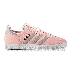 """Женские кроссовки Adidas Gazelle """"Haze/Coral/Granite"""""""