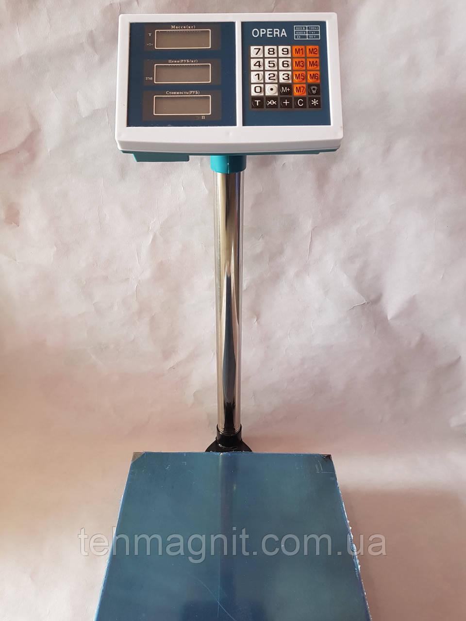 Електронні торгові ваги Opera, 100 кг