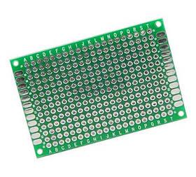 PCB 5x7 см двостороння друкована плата