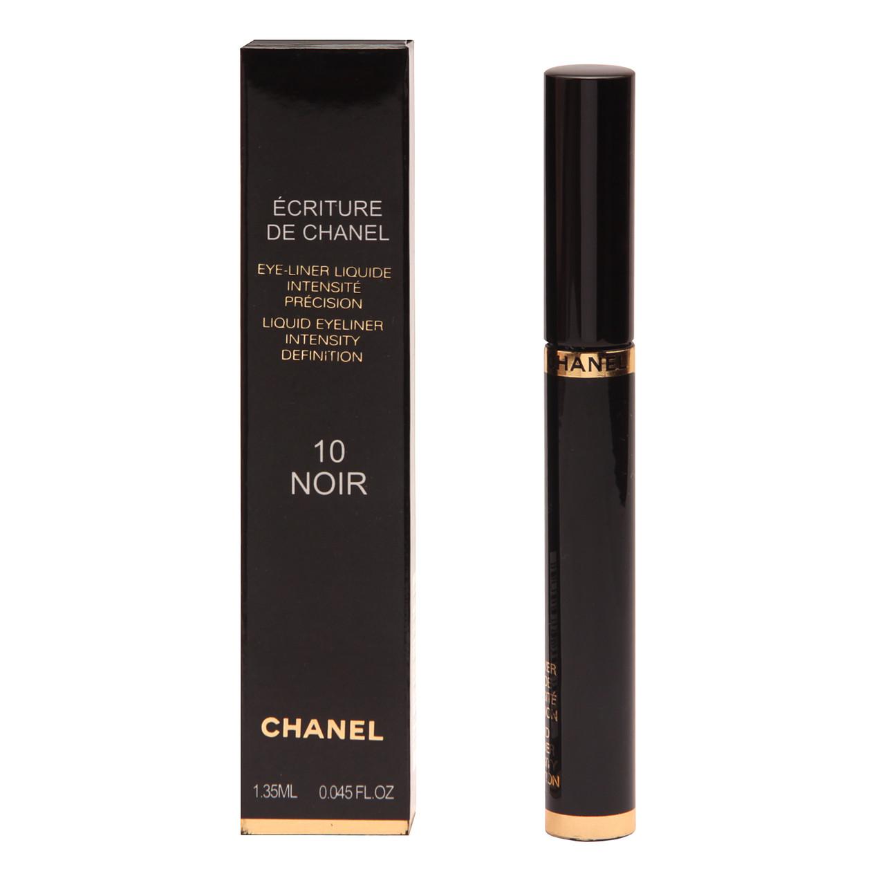 Жидкая подводка для век Chanel 10 Noir