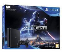Игровая консоль SONY PlayStation 4 Slim 1TB + Star Wars: Battlefront II