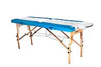 Стол массажный 2х секционный RELAX, массажная кушетка для наращивания шугаринга тату