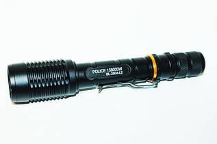 Фонарик мощный тактический  Police BL-2804(2840) 158000W+зарядка для автомобиля