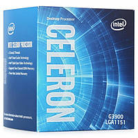 Процессор Intel Celeron G3900 2.8GHz/8GT/s/2MB (BX80662G3900) s1151 BOX