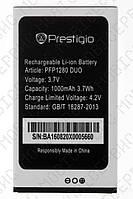 Аккумулятор Prestigio PFP1280 DUO (Muze B1) 1000mah (альтернатива)