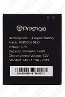 Аккумулятор Prestigio MultiPhone PSP5505 Duo 2000mah (альтернатива)