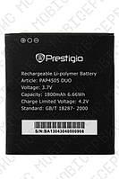 Аккумулятор Prestigio MultiPhone PAP4505 DUO 1800mah (альтернатива)
