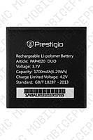 Аккумулятор Prestigio MultiPhone PAP4020 DUO 1700mah (альтернатива)