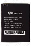 Аккумулятор Prestigio MultiPhone PAP3350 Duo 1200mah (альтернатива)