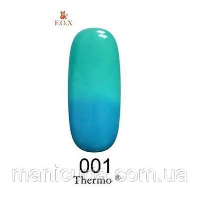 Термо гель-лак F.O.X №1, 6 мл