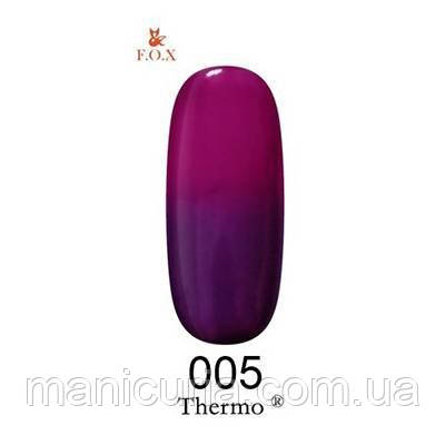 Термо гель-лак F.O.X №5, 6 мл