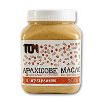 TOM peanut butter	Арахісове Масло 500 g