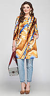Пальто Matini-21069 белорусский трикотаж, терракот, 52