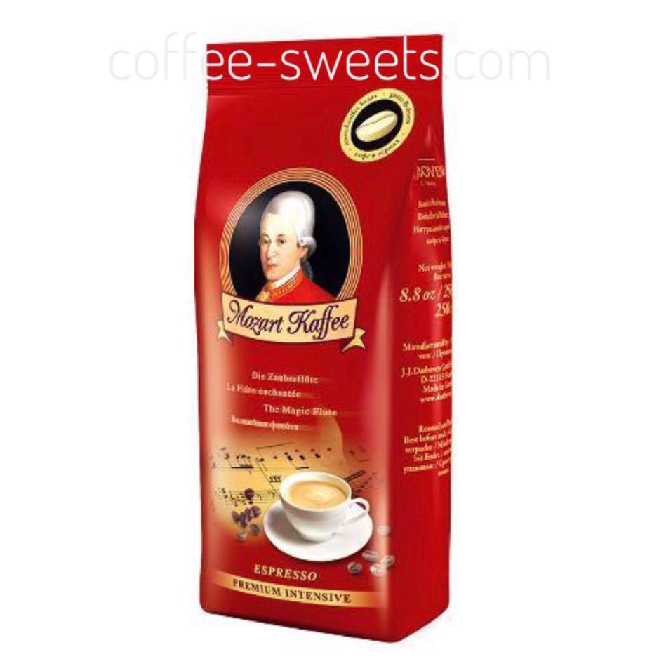 Кофе молотый Mozart Kaffee Premium Intensive 250 г.