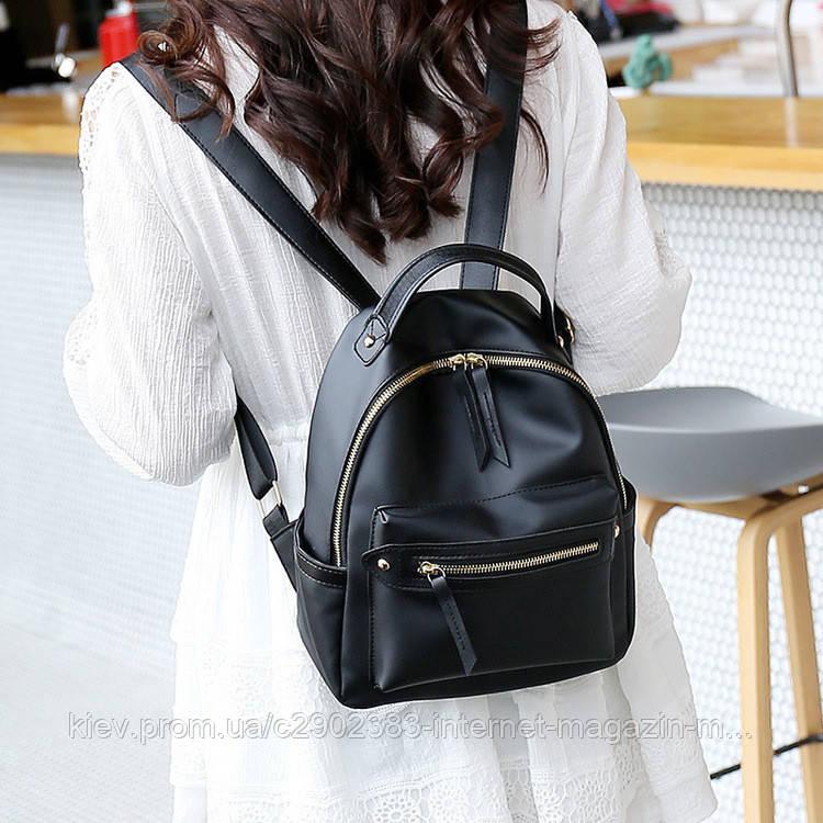 Стильный водонепроницаемый женский Рюкзак Bobby в черном цвете - интернет -  магазин MGler в Киеве c977512ace0