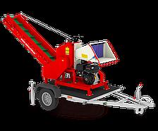 Бензиновый измельчитель веток Арпал АМ-120 БД- К + прицеп (10 куб. м/час)