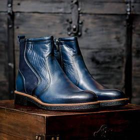 Ботинки кожаные m0028