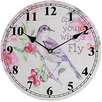 """Часы настенные """"Ufficio Postale. Соловей"""" Ø29см"""