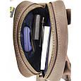 Кожаная мужская сумка c ручкой Vatto , фото 7