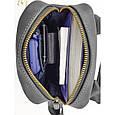 Кожаная мужская сумка c ручкой Vatto , фото 5