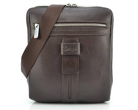 Коричневая мужская сумка Karya 0678-39 (Турция)