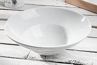 Тарелка глубокая для пасты фарфоровая 26 см LUBIANA Kaszub Hel А0235