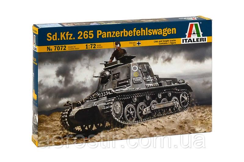 Sd.Kfz..265 Panzerbefhelswagen. 1/72 ITALERI 7072