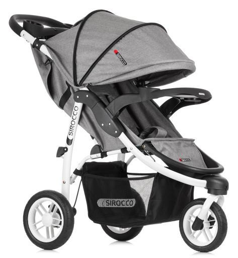 Прогулочная детская коляска SIROCCO TRIO PREMIUM