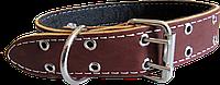 Шкіряний Ошийник 40 мм, фото 1