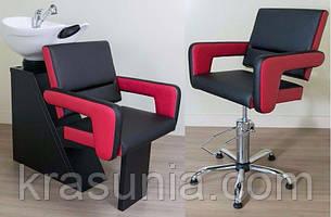Комплект парикмахерской мебели Flamingo Sheley