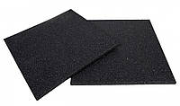 Резиновая плитка (зернистая, черная) 20 мм