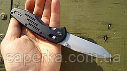 Нож складной Ganzo G701, черный , фото 3