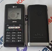 Корпус для телефона LG KP110 в сборе (Качество ААА) (Черный) Распродажа!