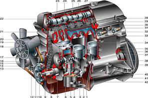 Двигатель запчасти комплектующие ВАЗ