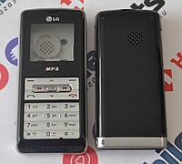Корпус для телефона LG KP110 в сборе (Качество ААА) (Серый) Распродажа!