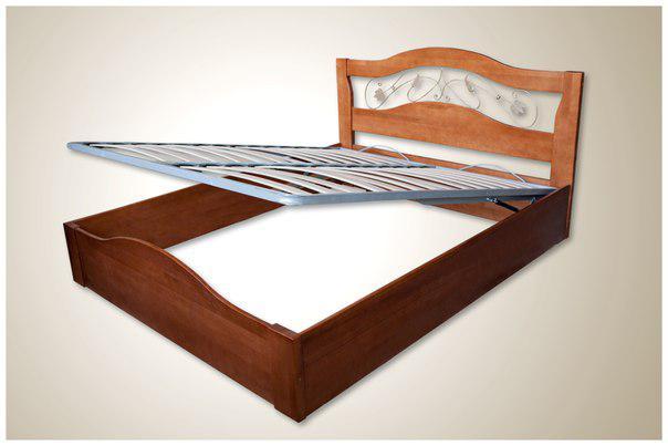 Кровать Лилия + подъем.мех. (цвет в ассортименте)