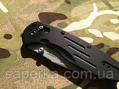 Нож складной Ganzo G701, черный , фото 2