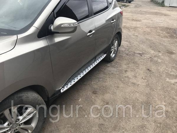 Боковые пороги Hyundai IX35 2013