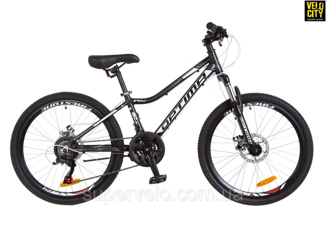 "Велосипед 24"" Optimabikes Blackwood DD 2018, фото 1"