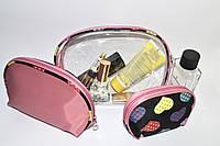 Женская силиконовая косметичка 3в1, фото 1