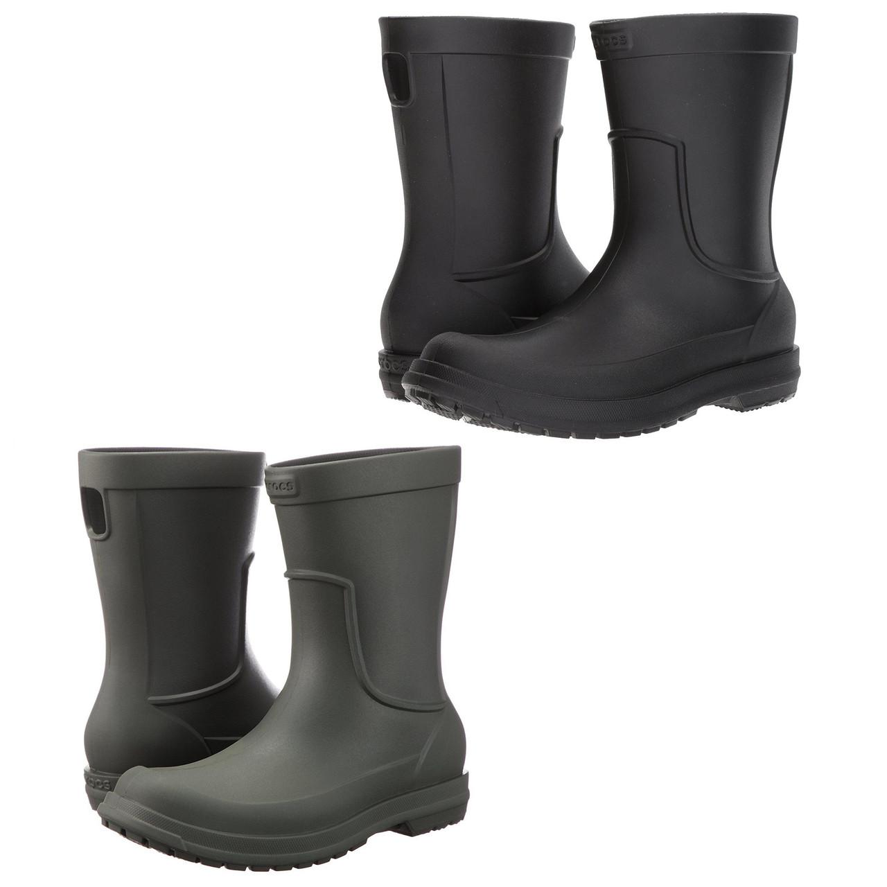 Сапоги резиновые мужские Crocs Men's AllCast Rain Boot / дождевики литые